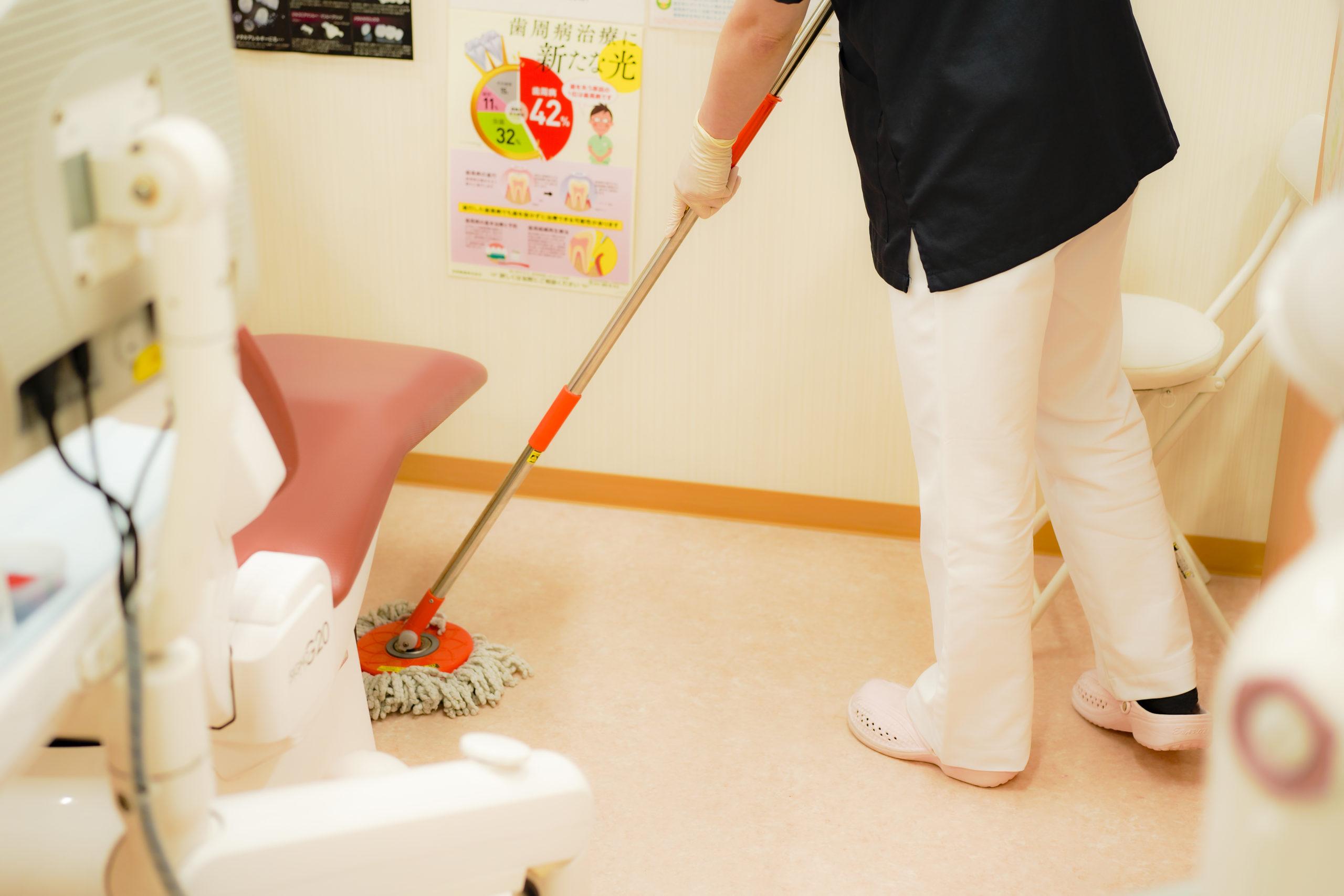 久喜市 いしはた歯科クリニック 感染症対策
